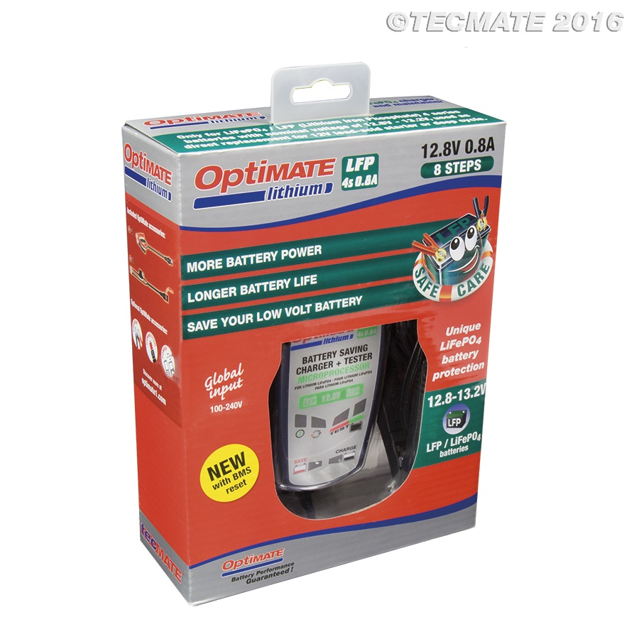 Tecmate TM-470/Battery Charger Optimate 0.8/Lithium